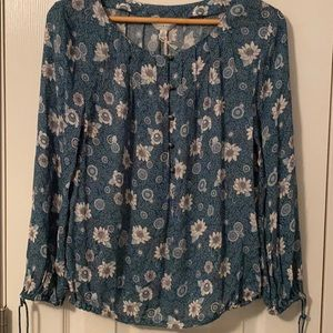NWT Lucky Brand blouse